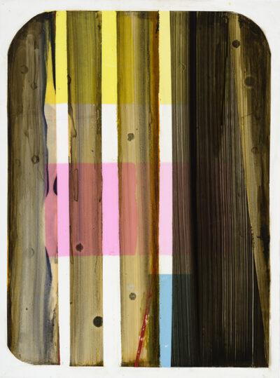 Paiting, Untitled 8407, 2020 Acrylic on mylar 24 × 18 in 61 × 45.7 cm